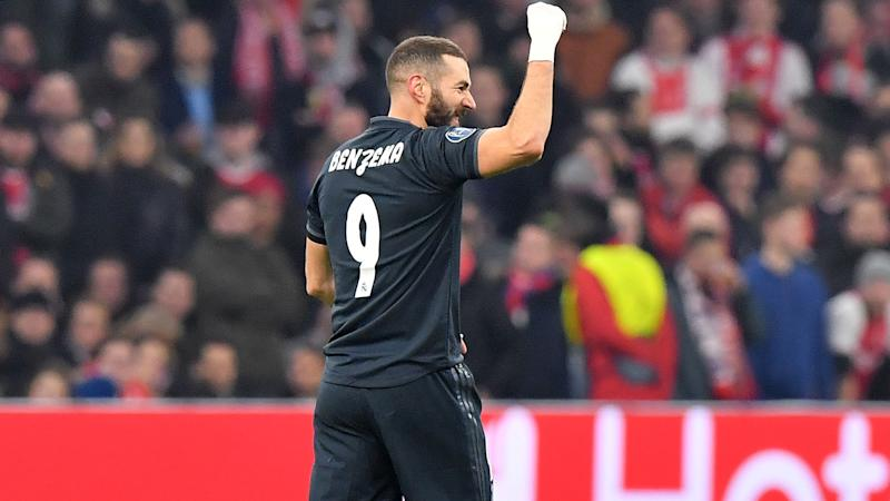 Benzema reaches Champions League milestone as Real Madrid squeeze