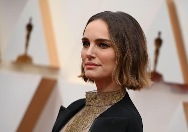 Natalie Portman paid tribute to female directors at the 2020 Oscars [Photo: Getty]