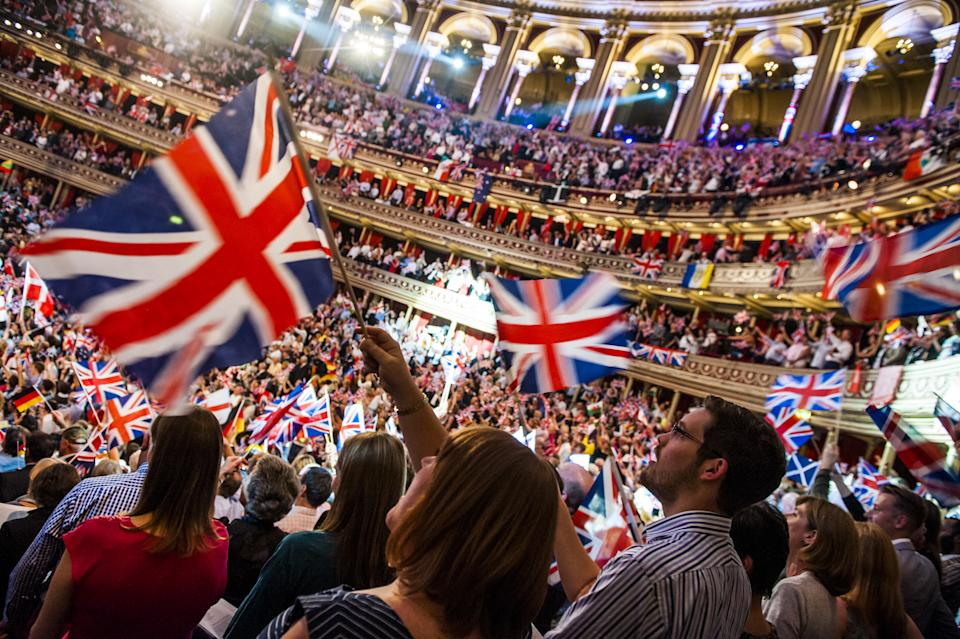 File photo dated 13/09/14 of the audience enjoying the BBC Last Night of the Proms, at the Royal Albert Hall in London. Land Of Hope And Glory and Rule Britannia! will be performed at the Last Night Of The Proms, the BBC has said.