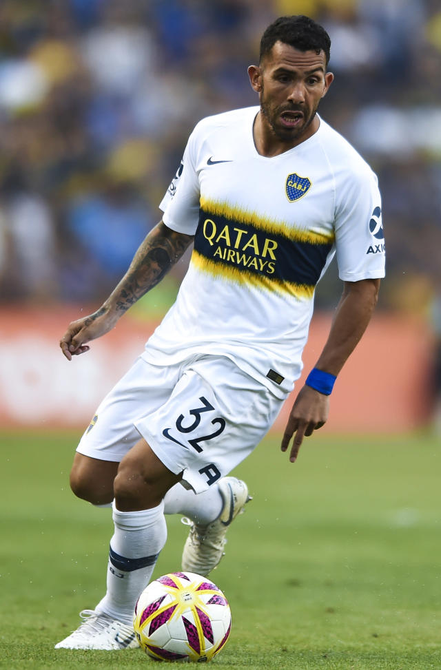Carlos Tévez, jugador de Boca Juniors./ Foto: Getty Images