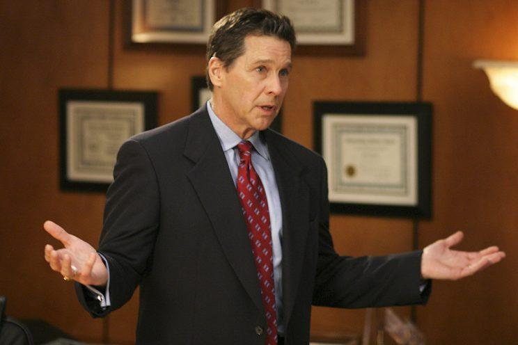 Tim Matheson in The West Wing (Credit: Justin Lubin/NBC/Getty Images)