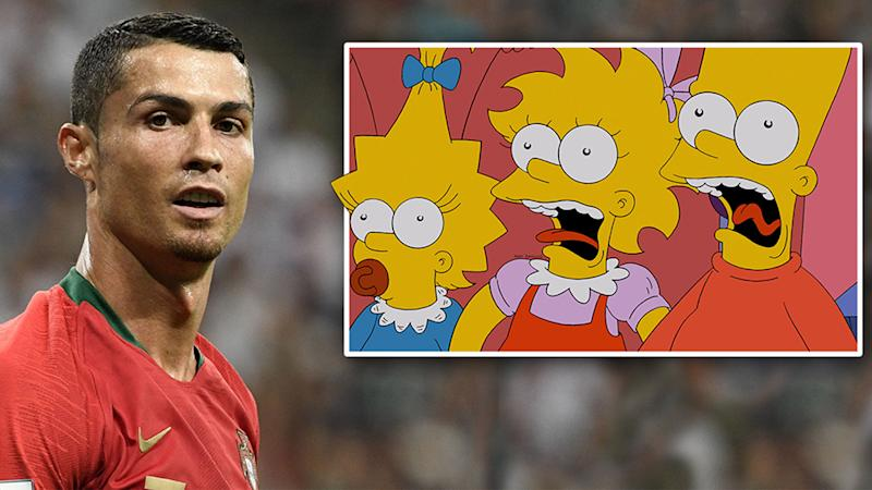 a 1990s simpsons episode might have predicted the 2018 world cup final