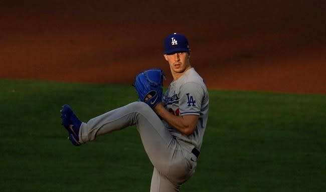 Dodgers' Buehler goes on IL with blister on right hand