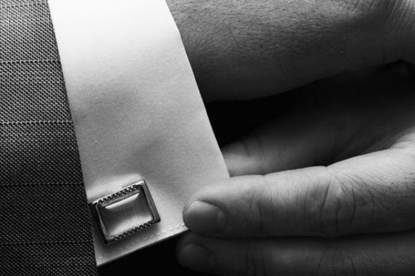 <strong>8. Accessorize:</strong> <br />Men's accessories are hot these days. Buy a cool watch for yourself, use a tie bar and cuff links to look a class apart and make your own style statement.