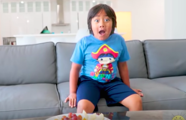 YouTube's Highest Paid Creator Is 8 Years Old