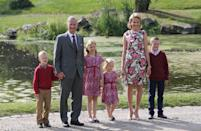 <p>King Philippe currently reigns over Belgium with his wife, Queen Mathilde. The couple have four children together and their eldest, Princess Elisabeth, is first in line to the throne. <em>[Photo: Getty]</em> </p>