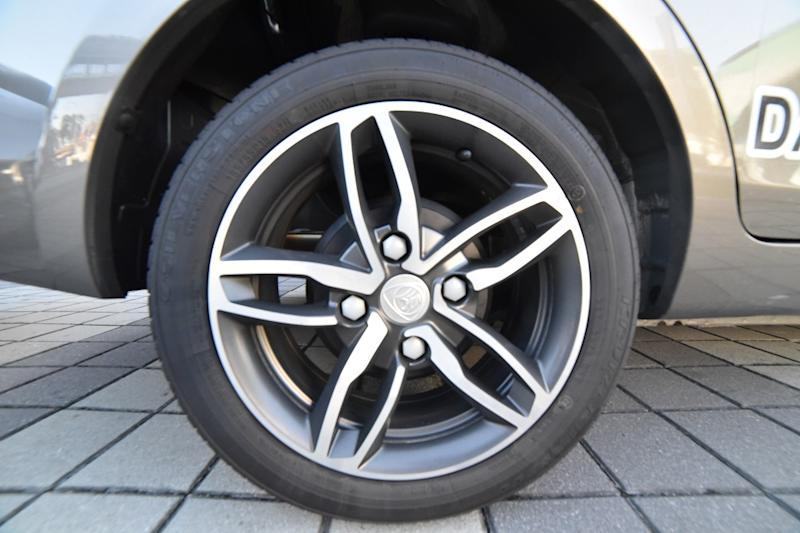 The new floral look 15-inch Alloy rims. — Picture courtesy of Proton