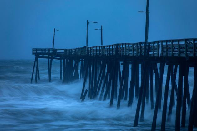 Hurricane Dorian Makes Landfall In Cape Hatteras, NC With
