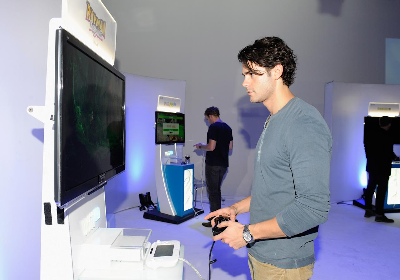 LOS ANGELES, CA - SEPTEMBER 20:  Jayson Blair attends the Nintendo Hosts Wii U Experience In Los Angeles on September 20, 2012 in Los Angeles, California.  (Photo by Amy Graves/Getty Images for Nintendo)