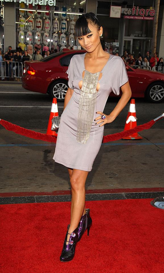 """<a href=""""http://movies.yahoo.com/movie/contributor/1800019960"""">Bai Ling</a> at the Los Angeles premiere of <a href=""""http://movies.yahoo.com/movie/1810029193/info"""">Drag Me to Hell</a> - 05/12/2009"""