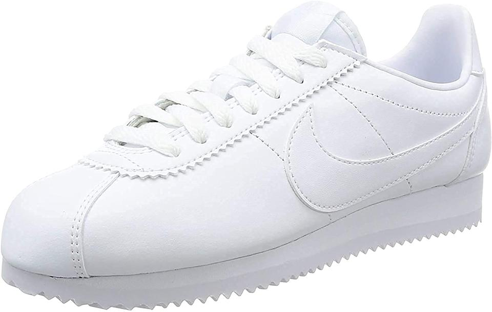 "<br><br><strong>Nike</strong> Cortez Running Shoe, $, available at <a href=""https://amzn.to/31lZ8gH"" rel=""nofollow noopener"" target=""_blank"" data-ylk=""slk:Amazon"" class=""link rapid-noclick-resp"">Amazon</a>"
