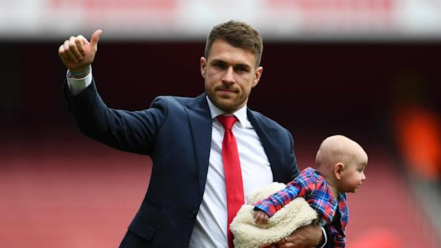 Wales midfielder Aaron Ramsey is set to join Juventus and he conceded leaving Arsenal was a wrench after more than a decade with the club.