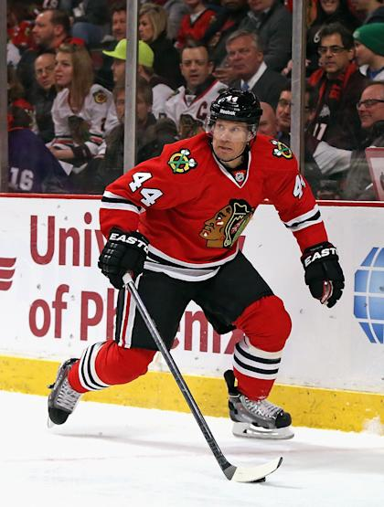 The Flyers traded Timonen to the Blackhawks to give him one last shot at winning the Stanley Cup. (Getty)
