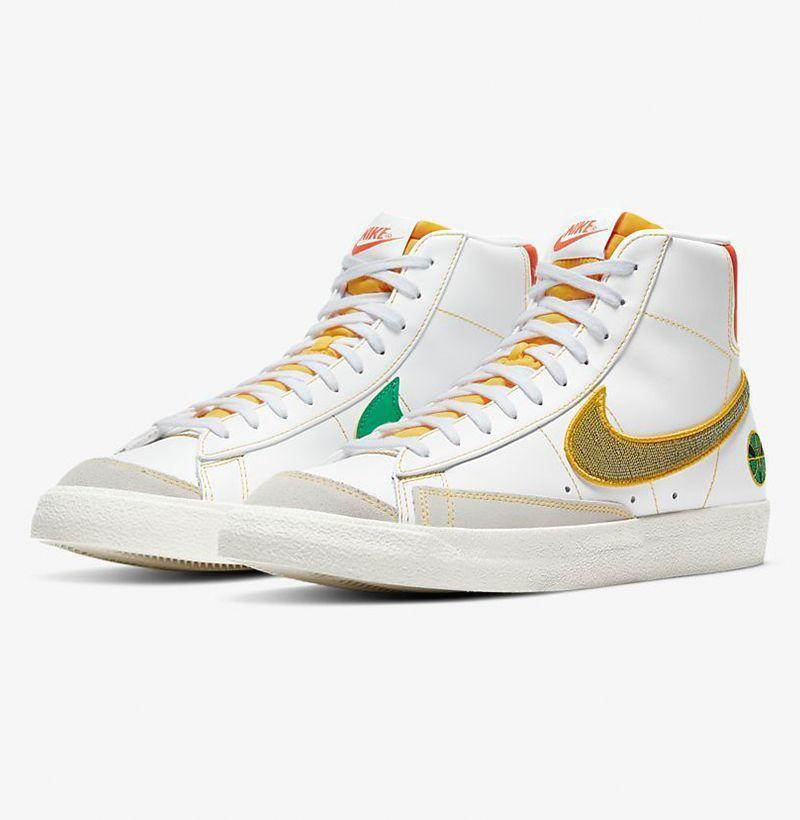 """<p><strong>Nike</strong></p><p>nike.com</p><p><strong>$110.00</strong></p><p><a href=""""https://go.redirectingat.com?id=74968X1596630&url=https%3A%2F%2Fwww.nike.com%2Ft%2Fblazer-mid-77-vintage-mens-shoe-XtzwCT&sref=https%3A%2F%2Fwww.esquire.com%2Fstyle%2Fmens-fashion%2Fg35293457%2Fbest-new-menswear-january-23%2F"""" rel=""""nofollow noopener"""" target=""""_blank"""" data-ylk=""""slk:Buy"""" class=""""link rapid-noclick-resp"""">Buy</a></p>"""