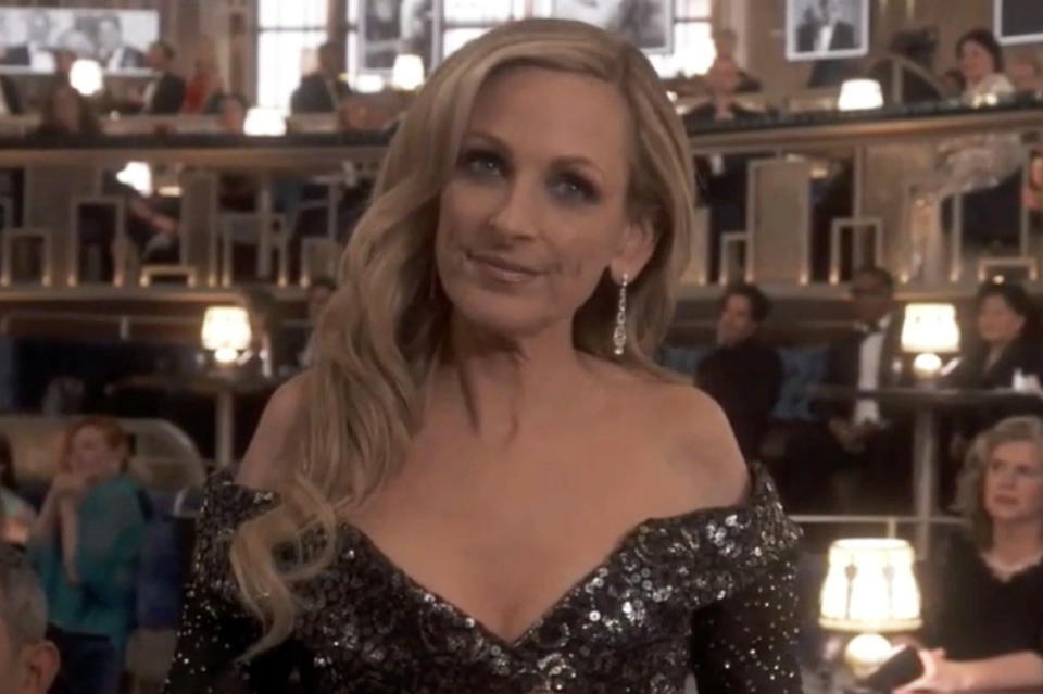 The Oscars have been met with backlash after cutting away from deaf actress Marlee Matlin communicating by sign language. Photo: ABC