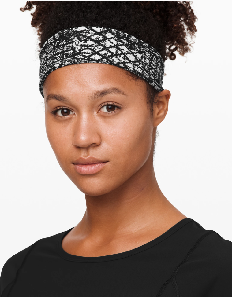 """<p><strong>Lululemon</strong></p><p>lululemon.com</p><p><strong>$12.00</strong></p><p><a href=""""https://go.redirectingat.com?id=74968X1596630&url=https%3A%2F%2Fshop.lululemon.com%2Fp%2Fwomen%2FFly-Away-Tamer-Headband-II-Lux%2F_%2Fprod8601718&sref=https%3A%2F%2Fwww.oprahmag.com%2Fstyle%2Fg33414958%2Fbest-headbands%2F"""" rel=""""nofollow noopener"""" target=""""_blank"""" data-ylk=""""slk:Shop Now"""" class=""""link rapid-noclick-resp"""">Shop Now</a></p><p>Trying to keep your baby hairs out of the way while running or working out? This Lululemon headband is made of sweat-wicking fabric that has four-way stretch. Plus, it's lined with velvet on the inside to make sure it doesn't slip.</p>"""