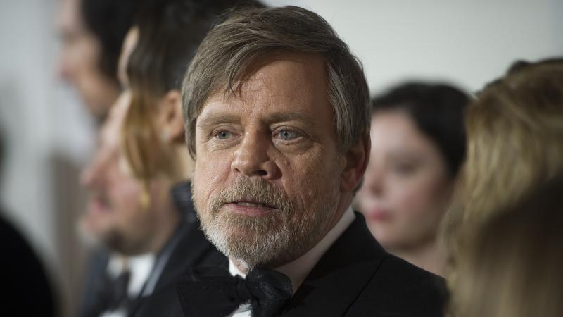 <p>The actor played Luke Skywalker, who lost a hand in an epic lightsabre battle with nemesis Darth Vader.</p>