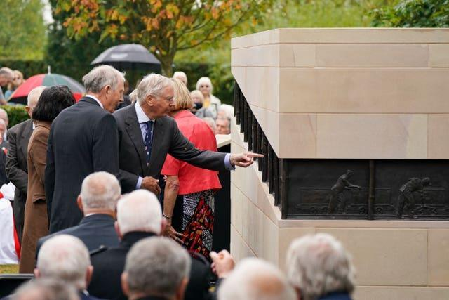 National Miners' Memorial unveiling