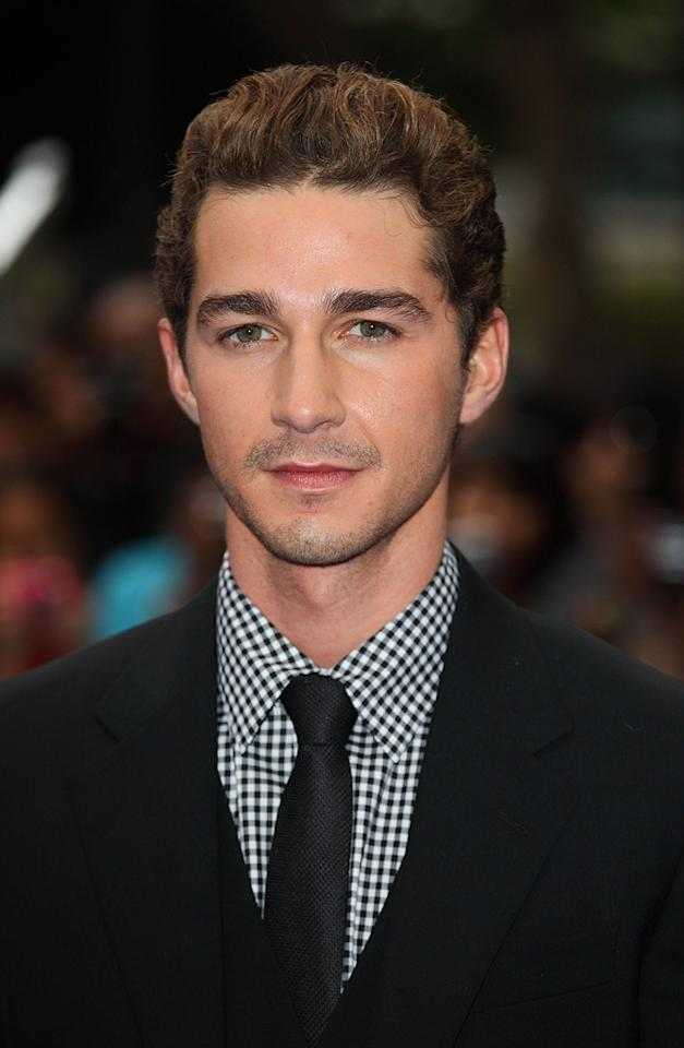 """<a href=""""http://movies.yahoo.com/movie/contributor/1804503925"""">Shia LaBeouf</a> at the London premiere of <a href=""""http://movies.yahoo.com/movie/1809943432/info"""">Transformers: Revenge of the Fallen</a> - 06/15/2009"""