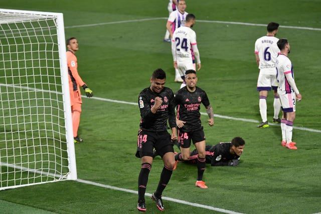 Casemiro scored the only goal of the game (