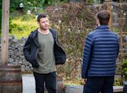 <p>After an altercation with Ben's friend, Aaron leaves but Ben is unaware of the reason why.</p>