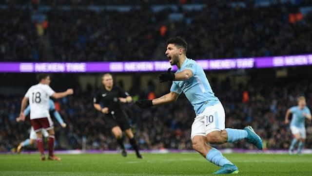 <p>Sergio Aguero completed his move from Atletico Madrid to the Etihad in the summer of 2011 for a reported £38m. The Argentine has often struggled with injury; however, he has still been an excellent addition to both Manchester City and the Premier League.</p> <br><p><strong>Attacking</strong></p> <br><p>Aguero has notched 13 goals in 17 appearances for the Citizens so far - averaging 0.76 goals per game, just ahead of teammate Raheem Sterling. The striker has had a total of 67 shots (3.9 per game) with 28 finding the target, leaving him with a shooting accuracy of 42%. Aguero has missed 12 big chances (0.7 per game) - seven more than his teammate. </p> <br><p><strong>Team Play </strong></p> <br><p>The 29-year-old has made a total of 414 passes (24.4 per match) with an accuracy of 81%. On average, he has made 1.4 key passes per game. Aguero has four assists and has created a further nine big chances for his teammates. He has claimed two Man of the Match awards so far this season. </p> <br><p><strong>Defensive</strong></p> <br><p>The Argentine forward has made seven tackles (0.4 per game), blocked 13 shots (0.7 per game) and intercepted four passes (0.2 per game).</p> <br><p><strong>Discipline</strong></p> <br><p>Aguero has received just the one yellow card since the start of the season. He has committed only eight fouls (0.5 per game) and has has been flagged offside on 12 occasions (0.7 per game).</p>