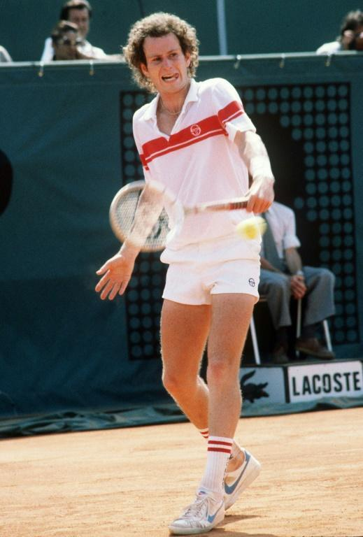 McEnroe lost his only Roland Garros final to Ivan Lendl in 1984