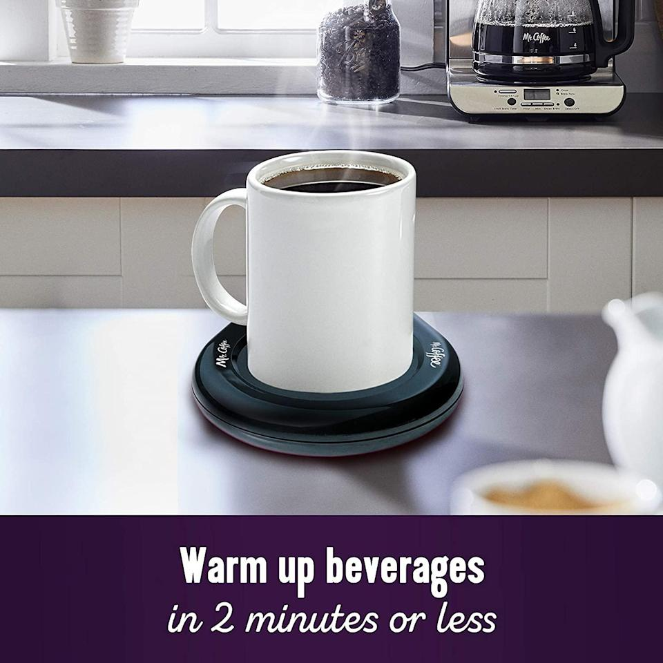 "<h2>Home Office Mug Warmer</h2><br>Keep your lattes steaming while waiting for that Zoom meeting to start. <br><br><strong>Mr. Coffee</strong> Home Office Mug Warmer, $, available at <a href=""https://www.amazon.com/Mr-Coffee-Warmer-Office-MWBLKPDQ-RB/dp/B000CO89T8/ref=sr_1_44?"" rel=""nofollow noopener"" target=""_blank"" data-ylk=""slk:Amazon"" class=""link rapid-noclick-resp"">Amazon</a>"