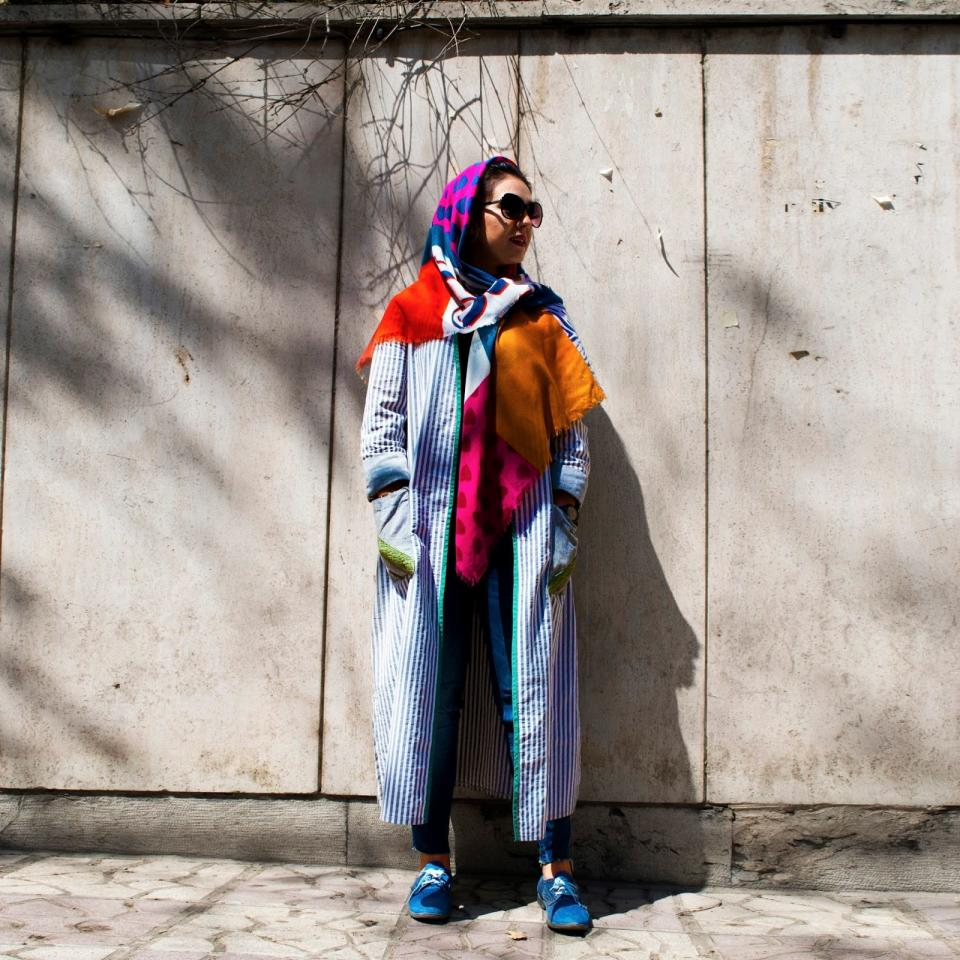 Street style in Tehran (Photo Hoda Katebi)
