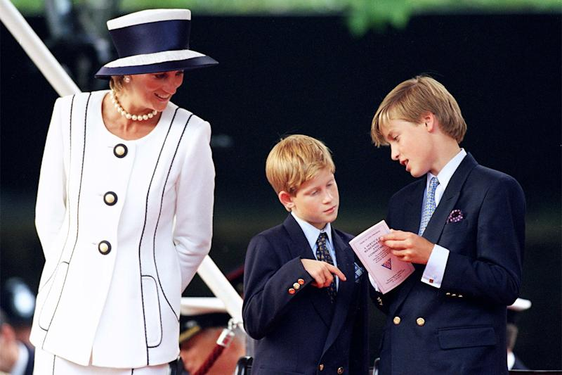 Princess Diana Encouraged William and Harry to Eat Surprisingly Normal Food
