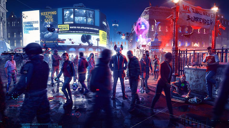'Watch Dogs: Legion' features DirectX Raytracing, which creates a far more realistic visual experience. (Image: Ubisoft)