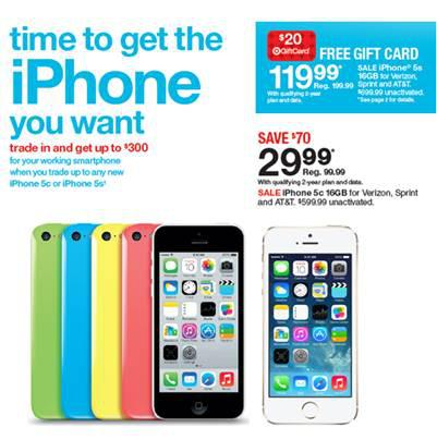 pretty nice d5a11 7e19d Target starts a new iPhone price war with Apple