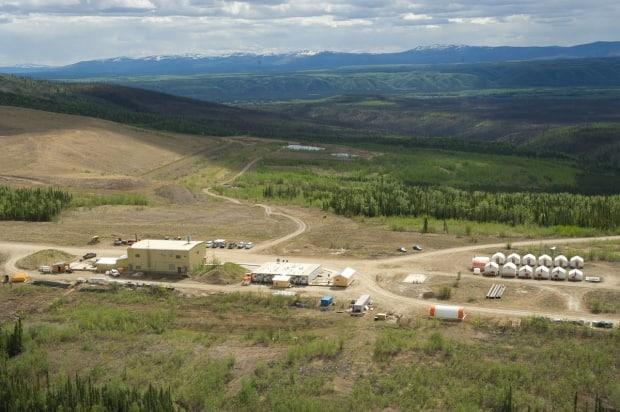 The Brewery Creek gold mine near Dawson City. The mine is now at the centre of two different lawsuits — one from the Yukon government's former chief mine engineer, and the other from Golden Predator.  (Golden Predator - image credit)
