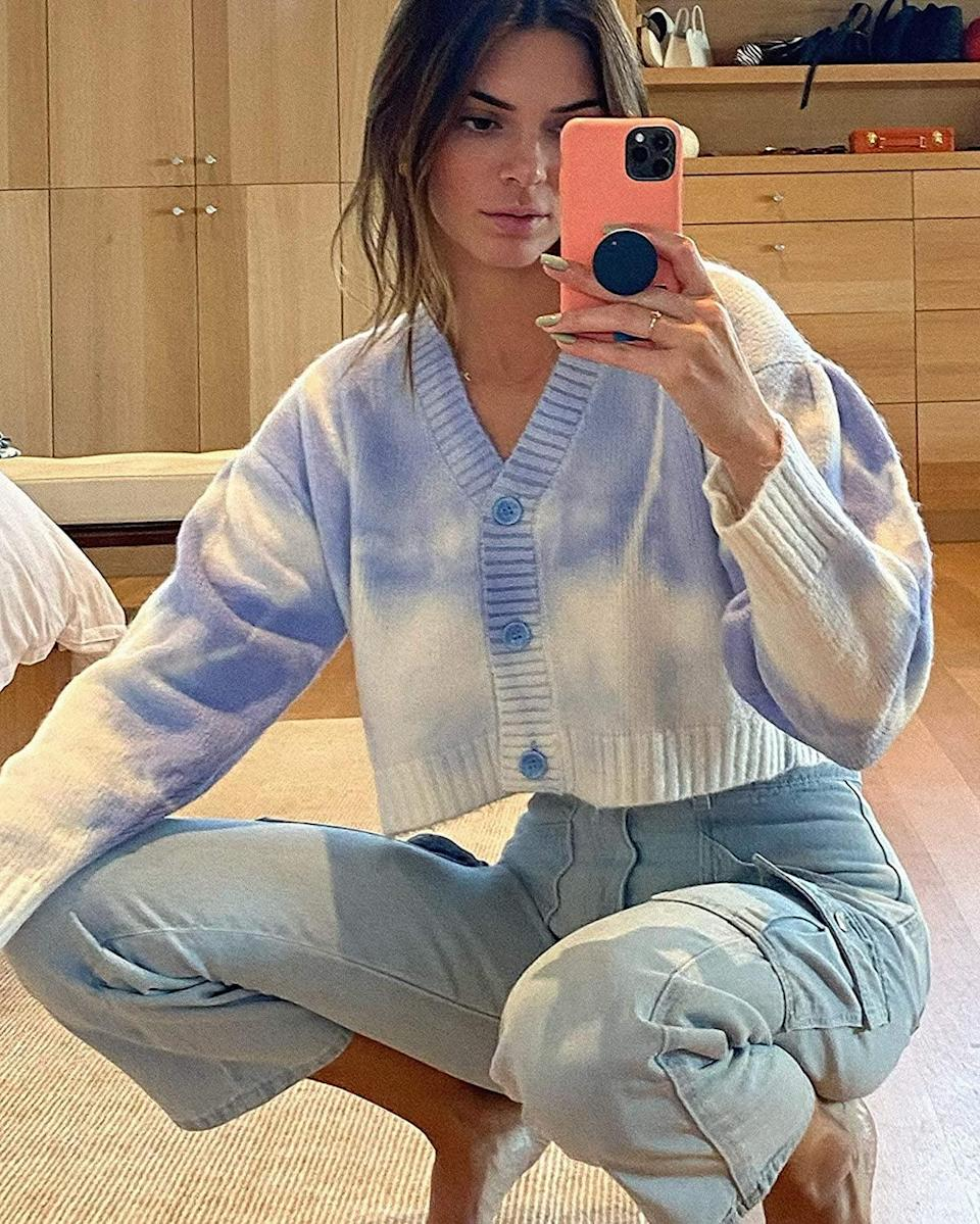 <p>This <span>KENDALL + KYLIE Cropped Cardigan</span> ($59) looks cute with denim.</p>