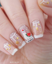 "<p>Sure, it's not quite traditional, but <a href=""https://www.instagram.com/jeealee/"" rel=""nofollow noopener"" target=""_blank"" data-ylk=""slk:nail polish maker Stephanie"" class=""link rapid-noclick-resp"">nail polish maker Stephanie </a>demonstrates how to turn the trendy llama into a festive scene on your nails by adding in a little snow. </p><p><a class=""link rapid-noclick-resp"" href=""https://go.redirectingat.com?id=74968X1596630&url=https%3A%2F%2Fwww.etsy.com%2Flisting%2F692986305%2Fllama-stencils-for-nails-nail-stickers&sref=https%3A%2F%2Fwww.oprahmag.com%2Fbeauty%2Fg34113691%2Fchristmas-nail-ideas%2F"" rel=""nofollow noopener"" target=""_blank"" data-ylk=""slk:SHOP LLAMA STENCIL"">SHOP LLAMA STENCIL</a></p>"