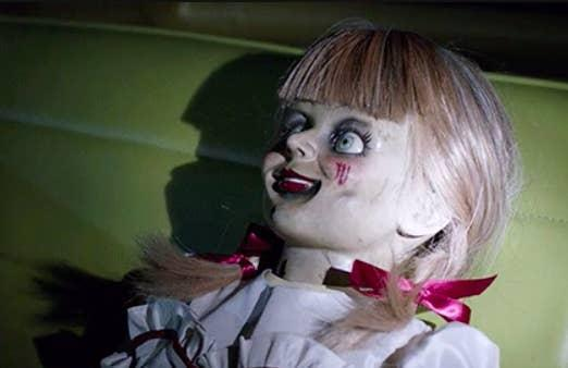 Annabelle is a haunted doll