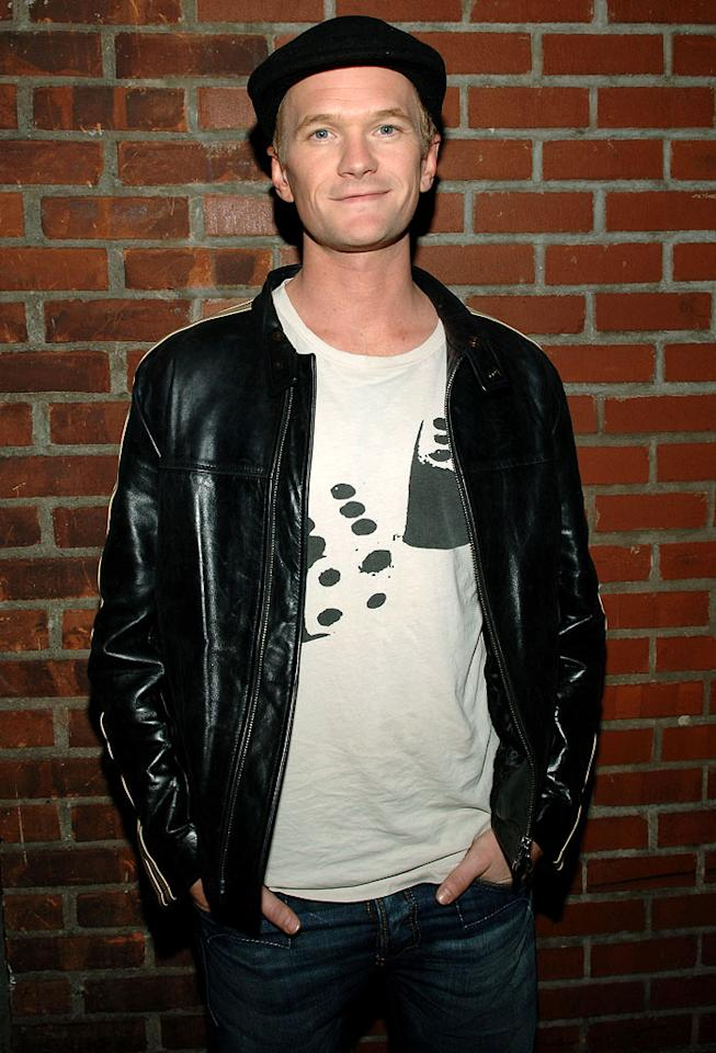 """Neil Patrick Harris hits up Christina Aguilera's """"Back to Basics"""" after party at Marquee in New York City. Jamie McCarthy/<a href=""""http://www.wireimage.com"""" target=""""new"""">WireImage.com</a> - March 23, 2007"""