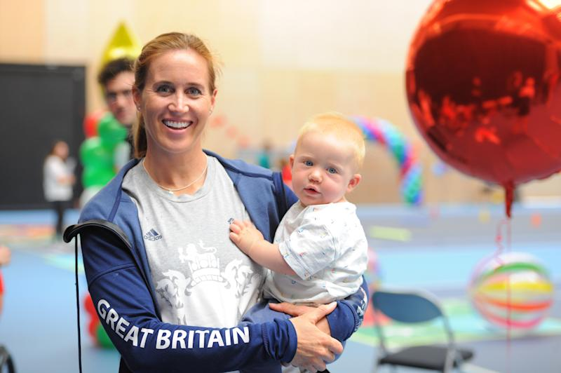 Helen Glover is hoping to use her double Olympic champion status to help inspire the next generation