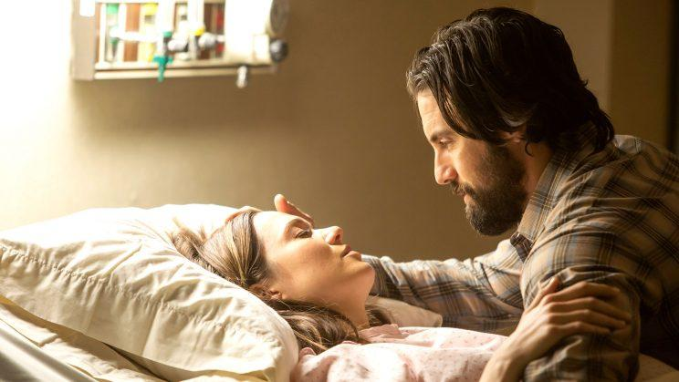 Mandy Moore and Milo Ventimiglia in 'This Is Us' (Credit: NBC)