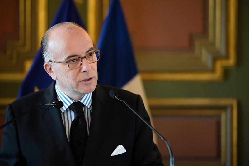 French Interior Minister Bernard Cazeneuve delivers a speech at the City Hall of Marseille on April 3, 2015 (AFP Photo/Lionel Bonaventure)