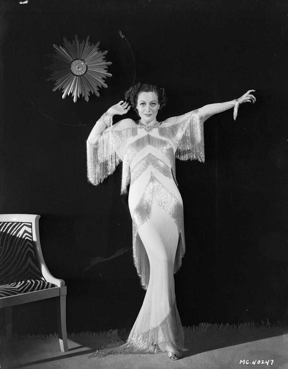 <p>Joan's career continued to soar post-breakup and she became associated with the decadence and glamour of Hollywood's golden age. </p>