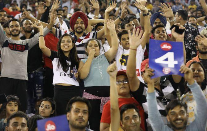 IPL 2021: Limited spectators will be allowed in IPL matches