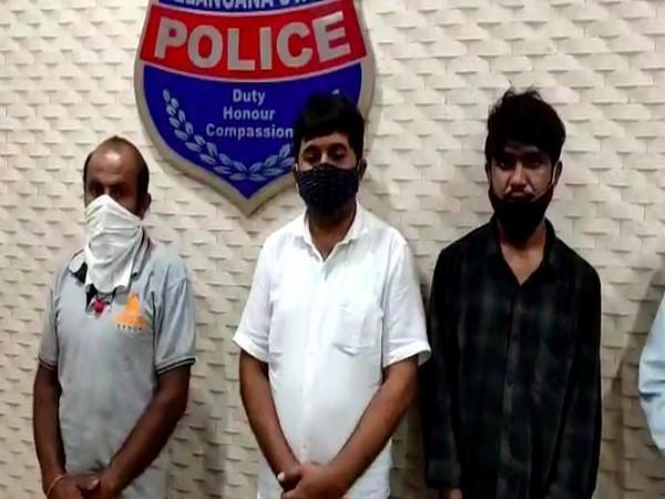 A businessman and his accomplices were arrested for thrashing a home guard and holding him hostage in Sagareddy on Thursday.