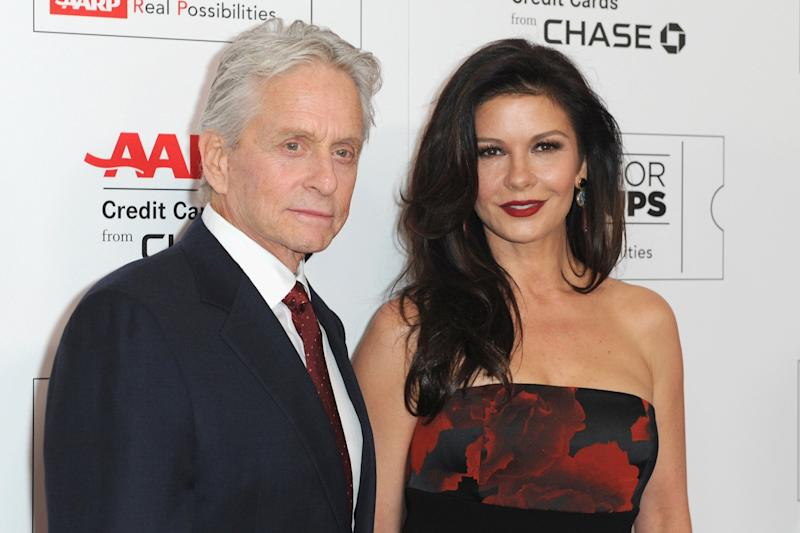 'Upsetting': Catherine Zeta Jones speaks out about claims against husband Michael Douglas: Joshua Blanchard/Getty Images