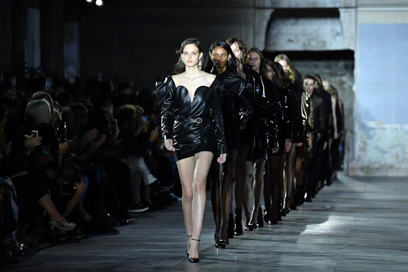 The companies behind Gucci, Saint Laurent, Dior and more brands have vowed to ban size zero models on the catwalk. (Photo: Getty)