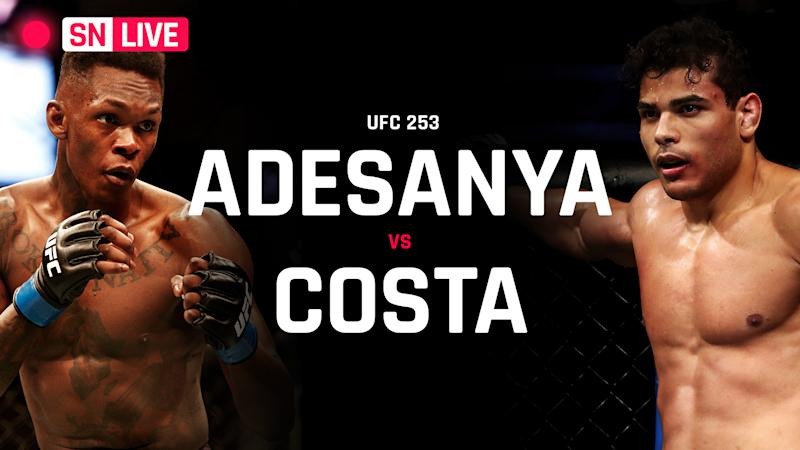 UFC 253 results: Israel Adesanya embarrasses Paulo Costa with TKO