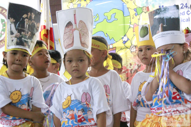 Preventing TB among Filipino children
