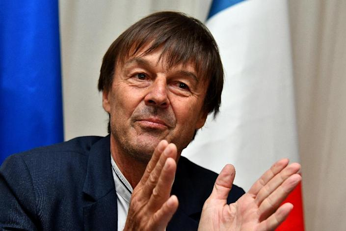 French Environment Minister Nicolas Hulot said countries were looking at ways to work around the US decision to quit the Paris accord (AFP Photo/Alberto PIZZOLI)