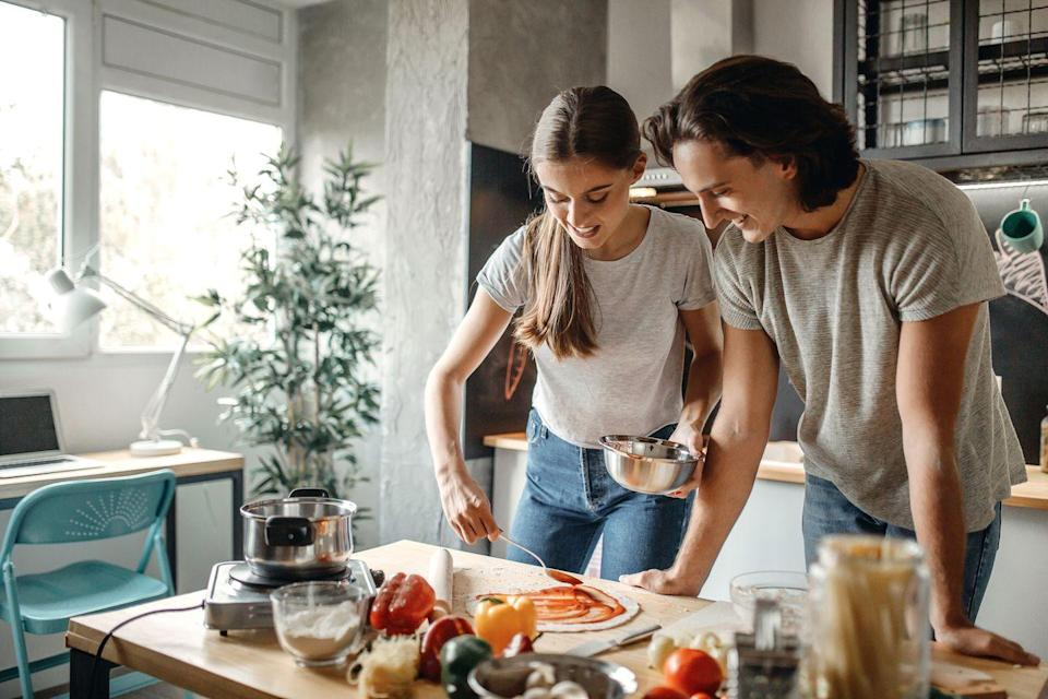 <p>If you believe someone's favorite pizza toppings say a lot about them, now's your opportunity to get a window into their personality. Also, making pizza is fun!</p>