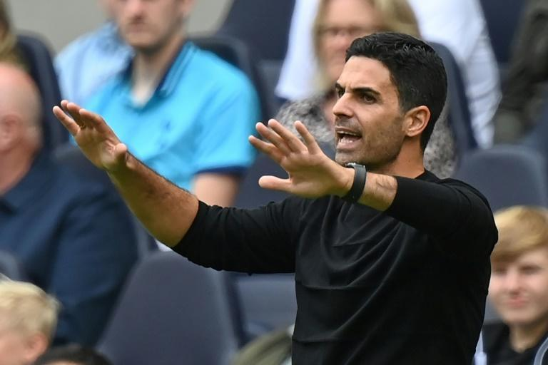 Under pressure: Arsenal manager Mikel Arteta needs to show signs of progress after a £130 million spend on new players